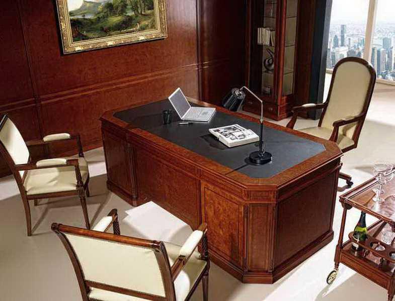 Muebles de despacho de estilo ingles for Muebles para despacho de abogados