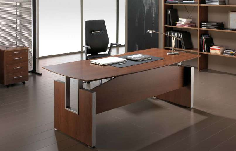 Muebles de despacho - Mesas de despacho de cristal ...